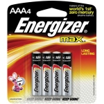 Energizer® MAX® MAX® AAA Battery 4pk: Batteries, (model EBC92), price per pack