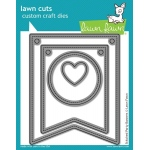 Lawn Fawn Lawn Cuts Dies: Stitched Party Banners