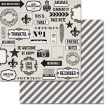 Teresa Collins Designs Urban Market Paper: Collage, 12 x 12