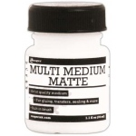 Ranger Multi Medium with Brush: Matte, 1 oz.