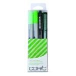Copic Marker Sets: Doodle Pack Green