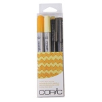Copic Marker Sets: Doodle Pack Yellow