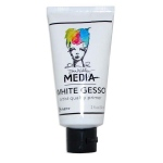 Ranger Dina Wakley Media: Gesso White, 2oz Tube