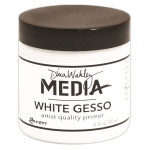 Ranger Dina Wakley Media: Gesso White, 4oz Jar