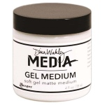 Ranger Dina Wakley Media Gel Medium: Soft, 4oz Jar