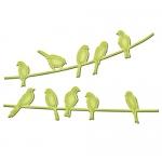 Spellbinders In'Spire Shapeabilities: Birds On A Wire