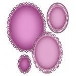 Spellbinders Nestabilities Deco Elements Elegant Ovals