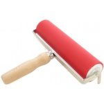 "American Educational ABIG Ink Roller Aluminum Core and Beechwood Handle: 7.8"" Wide"