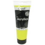 American Educational Creall Studio Acrylics Tube: 250 ml, 05 Lemon Yellow