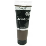 American Educational Creall Studio Acrylics Tube: 250 ml, 69 Burnt Umber