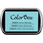 ColorBox® Full Size Pigment Ink Pad Robin's Egg: Blue, Pad, Pigment, Full Size Rectangle, (model CS15075), price per each