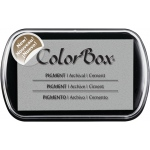 ColorBox® Full Size Pigment Ink Pad Cement; Color: Black/Gray; Format: Pad; Ink Type: Pigment; Shape: Full Size Rectangle; (model CS15220), price per each