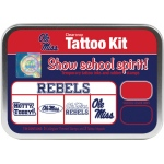 ColorBox® University of Mississippi Collegiate Tattoo Kit; Format: Tin; Type: Stamp; (model CS19624), price per set