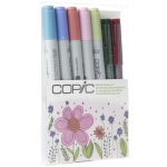Copic® Ciao Natural Doodle Kit: Multi, Double-Ended, Refillable, (model DKNAT), price per set
