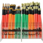 Dynasty® Urban FX Synthetic and Bristle Urban Art Brush Display Assortment; Length: Long Handle; Type: Urban Art; (model FM35345D), price per each