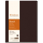 "Strathmore® 400 Series 8.5 x 11.5 Hardbound Sketch Book; Color: White/Ivory; Format: Book; Quantity: 192 Sheets; Size: 8 1/2"" x 11 1/2""; Type: Hardbound Sketch; Weight: 60 lb; (model ST297-012), price per each"