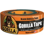 "Gorilla Glue® 1.88"" x 12 yds. Tape: Black/Gray, Roll, 1.88"" x 12 yd, Utility, 1.88"", (model G60012), price per each"