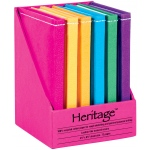 """Heritage Arts™ 5"""" x 7"""" Notebook Display: Sewn Bound, Assorted, Book, 5"""" x 7"""", Notebook, (model HM57), price per each"""