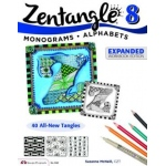Design Originals - Zentangle 8 - Monograms and Alphabets Expanded Workbook Edition