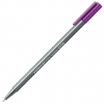 Staedtler® Triplus® Violet Fineliner Pen ; Color: Purple; Tip Size: .3mm; Tip Type: Fine Nib; Type: Technical; (model 334-6), price per each