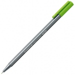 Staedtler® Triplus® Light Green Fineliner Pen : Green, .3mm, Fine Nib, Technical, (model 334-51), price per each