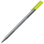 Staedtler® Triplus® Lime Green Fineliner Pen ; Color: Green; Tip Size: .3mm; Tip Type: Fine Nib; Type: Technical; (model 334-53), price per each