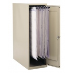 """Safco® Vertical Storage Cabinets 16"""" x 27"""" x 42""""; Capacity: 1200 Sheets; Color: White/Ivory; Material: Steel; Size: 27""""d x 16""""w x 42""""h; (model 5040), price per each"""