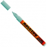 MOLOTOW™ 2mm Fine Tip Acrylic Pump Marker Lago Blue Pastel: Blue, Paint, Refillable, 2mm, Paint Marker, (model M127215), price per each