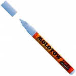 MOLOTOW™ 2mm Fine Tip Acrylic Pump Marker Ceramic Light Pastel: Blue, Paint, Refillable, 2mm, Paint Marker, (model M127217), price per each