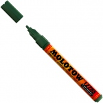 MOLOTOW™ 2mm Fine Tip Acrylic Pump Marker Fut: Green, Paint, Refillable, 2mm, Paint Marker, (model M127222), price per each