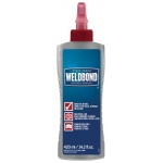 Weldbond® Universal Adhesive 14.2oz Bottle: Bottle, 14.2 oz, All Purpose, (model 8-50420), price per each