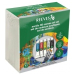Reeves™ Acrylic 3D Canvas Art Set; Type: Acrylic; (model 8490001), price per set