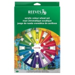 Reeves™ Acrylic Color Wheel Set; Type: Acrylic; (model 8491460), price per set