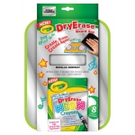 "Crayola® Dry-Erase Neon Color Board Set: 8 1/2"" x 11"", Dry Erase, (model 98-8625), price per set"
