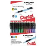 Pentel® Mechanical Pencil Display Assortment; Color: Multi; Degree: HB; Lead Color: Black/Gray; Type: Mechanical; (model AL157CH-144D), price per each