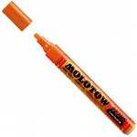 MOLOTOW™ 4mm Round Tip Acrylic Pump Marker Dare Orange: Orange, Paint, Refillable, 4mm, Paint Marker, (model M227203), price per each