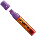 MOLOTOW™ 15mm Wide Tip Acrylic Pump Marker Violet HD Currant: Purple, Paint, Refillable, 15mm, Paint Marker, (model M627207), price per each
