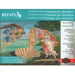 "Reeves™ Large Painting By Numbers Birth Of Venus; Board Size: 12"" x 16""; Size: 12"" x 16""; (model PBNACL13), price per each"