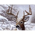 "Royal & Langnickel® Painting by Numbers™ 11 1/4 x 15 3/8 Junior Large Set Dancing Snow: 11 1/4"" x 15 3/8"", (model PJL35), price per set"
