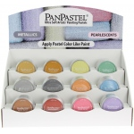 PanPastel Ultra Soft Artists' Painting Pastel Display Assortment: Metallic & Pearlescent