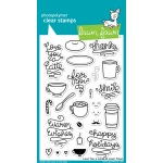 Lawn Fawn - Love You A Latte Stamp Set