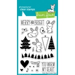 Lawn Fawn - Snow Day Stamp Set