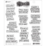 Ranger - Dyan Reaveley - Dylusions - Cling Stamps - Don't Hold Back