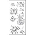 Ranger - Dyan Reaveley - Dylusions - Clear Stamps - Clearly Under The Sea