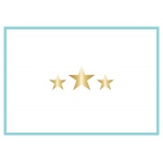 Teresa Collins Designs - Studio Gold - Card Set - Stars