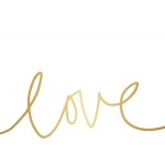 Teresa Collins Designs - Studio Gold - Card Set - Love