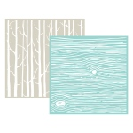 We R Memory Keepers - Embossing Folder Wood Grain