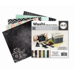 We R Memory Keepers - Washi Adhesive Pad 6x6 Blackboard