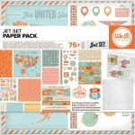 We R Memory Keepers - Jet Set Paper Pack