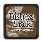 Tim Holtz - Distress Mini Ink Pad - Open Stock - Walnut Stain